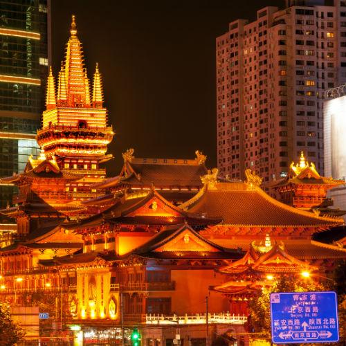 Guía Shanghai, Templo Jing'an