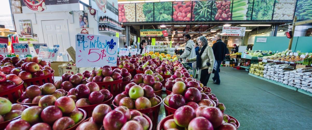 Guía Montreal, Mercado Jean Talon