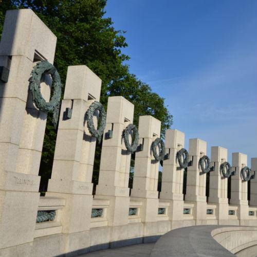 Guía Washington, Monumento II Guerra Mundial