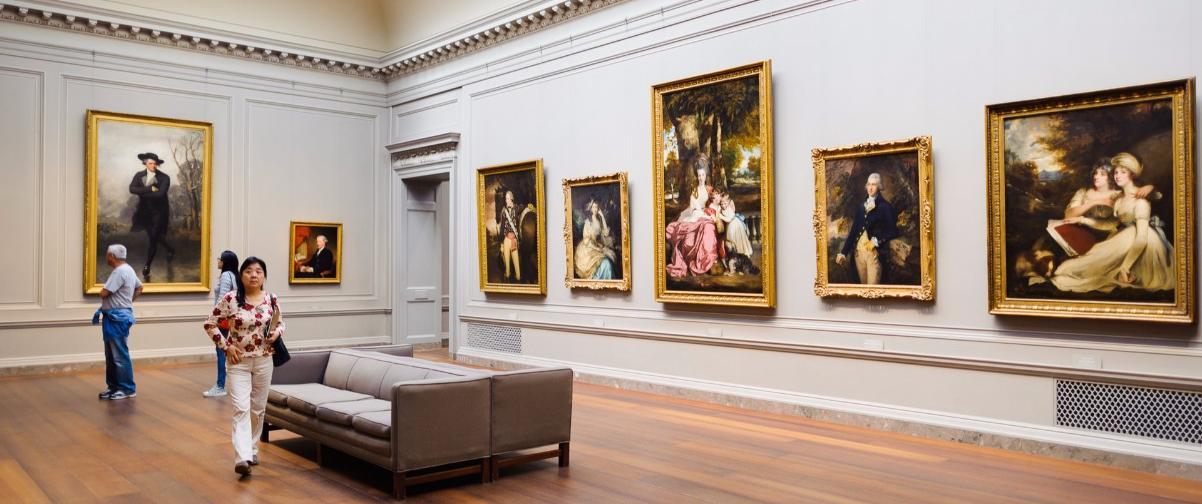 Guía Washington, Interior Galería Nacional de Arte
