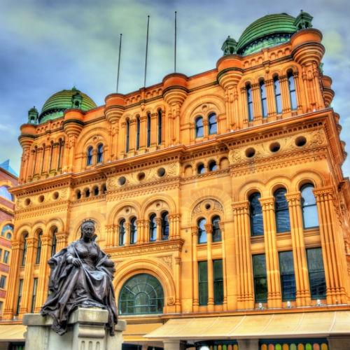 Guía Sídney, Queen Victoria Building