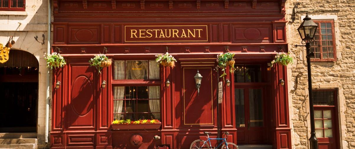 Guía Montreal, Restaurante