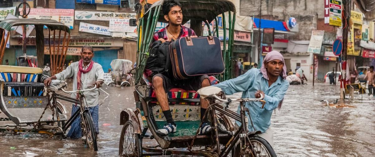 Guía Nueva Delhi, Monzón