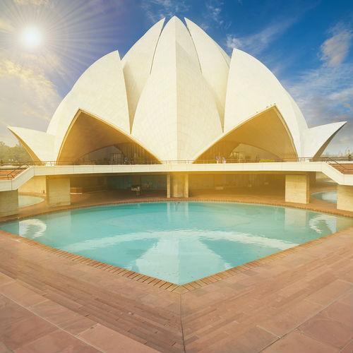 Guía Nueva Delhi, Templo de loto