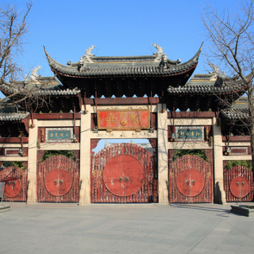 Guía Shanghai, Templo Longhua