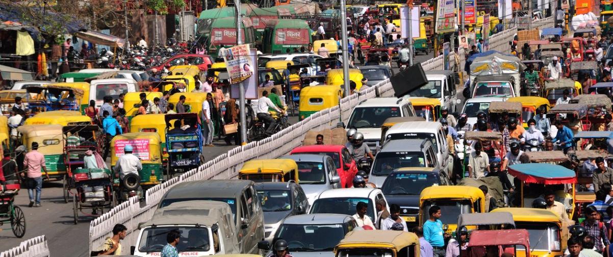 Guía Nueva Delhi, Tráfico Nueva Delhi