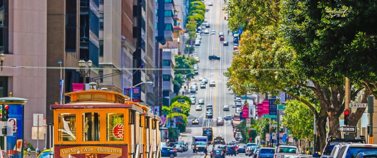 Guía San Francisco, Tranvía