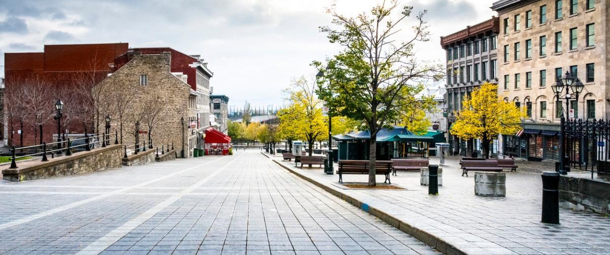 Guía Montreal, Ruta por Vieux-Montreal