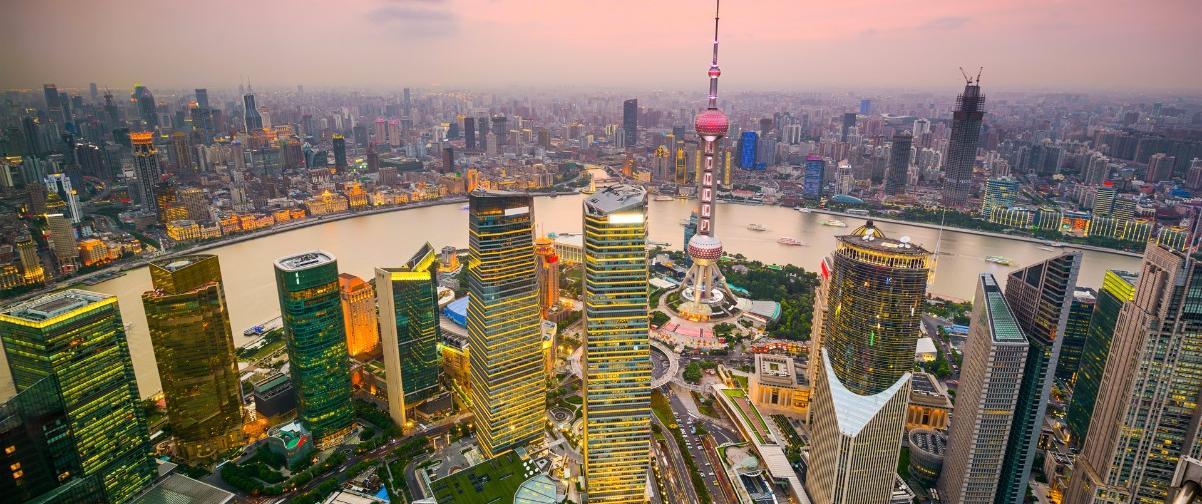 Guía Shanghai, Vista aérea de Shanghai