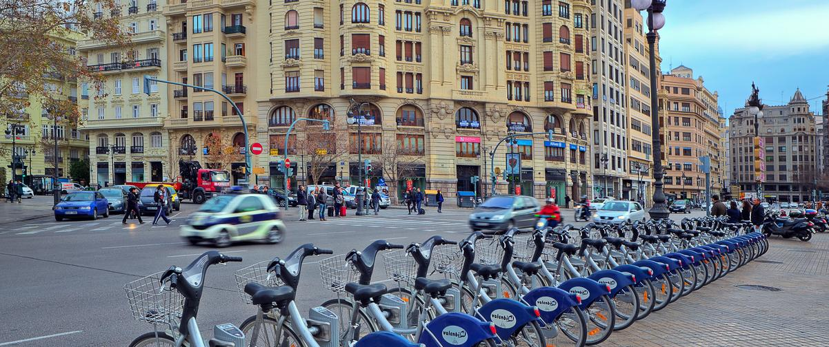 Guía Valencia, Alquiler de bicis