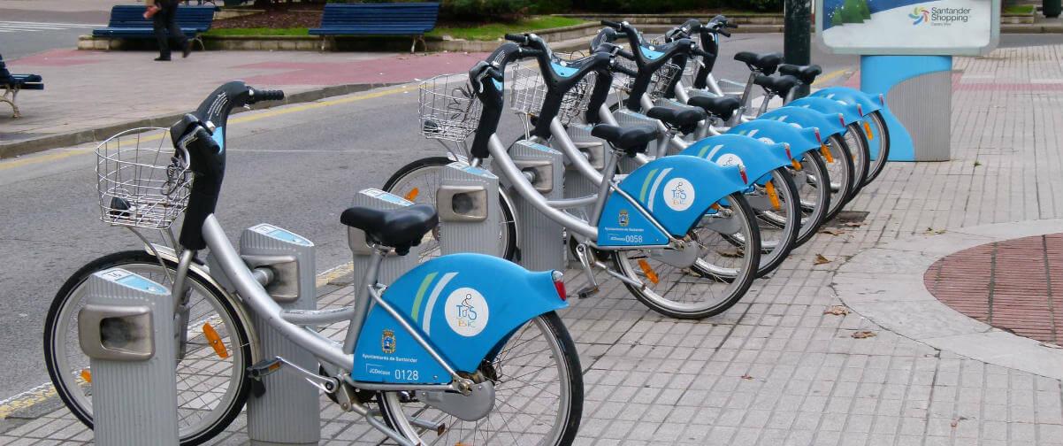 Guía Santander, Alquiler Bicicletas