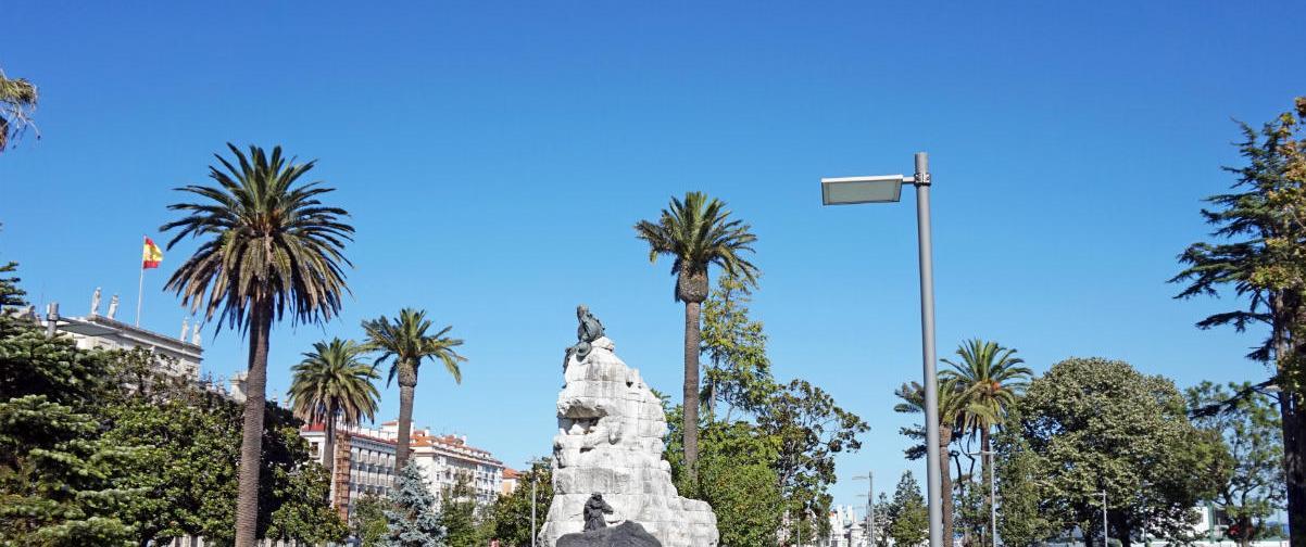 Guía Santander, Jardines Pereda