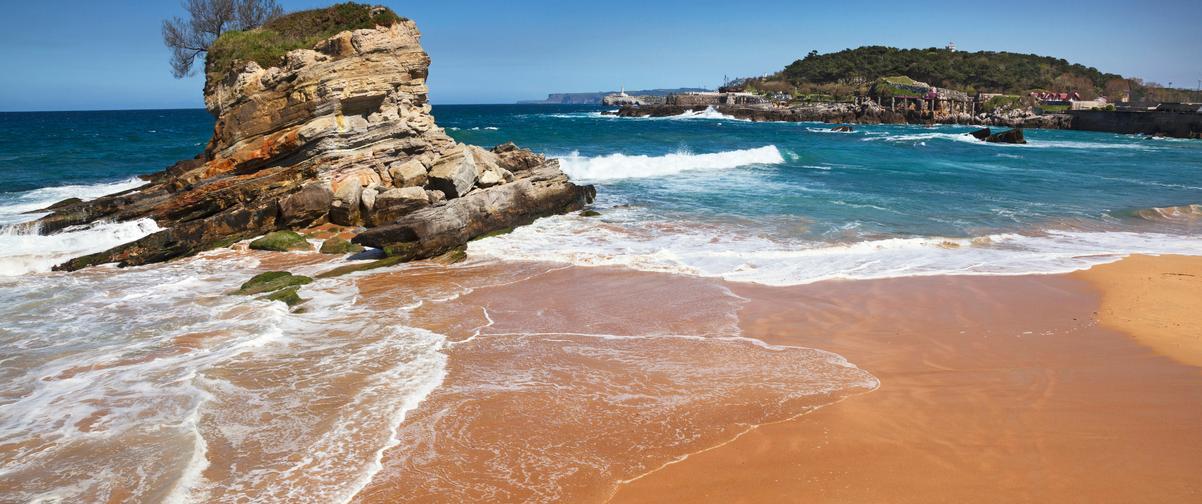 Guía Santander, Playa Sardinero