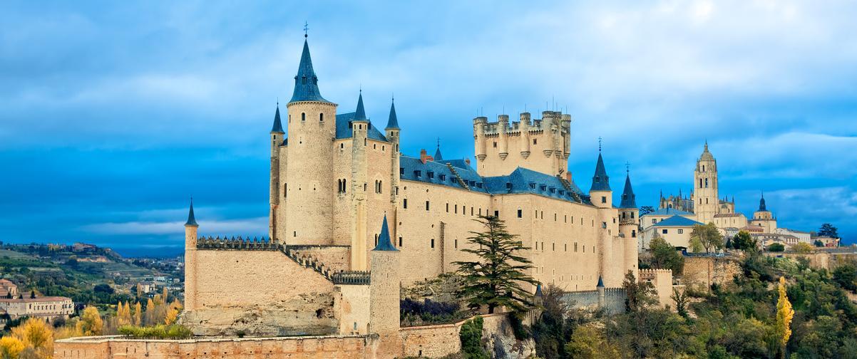 Guía Segovia, Alcázar