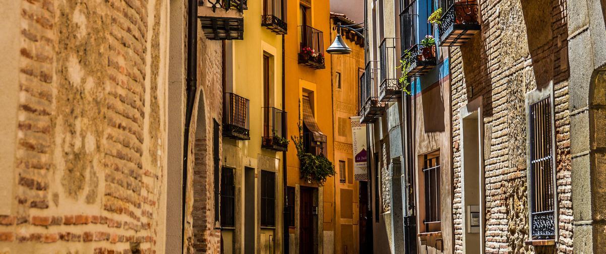 Guía Segovia, Calles medievales