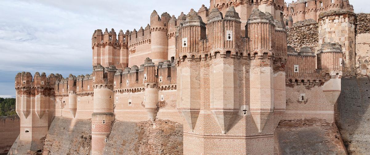 Guía Segovia, Castillo de Coca