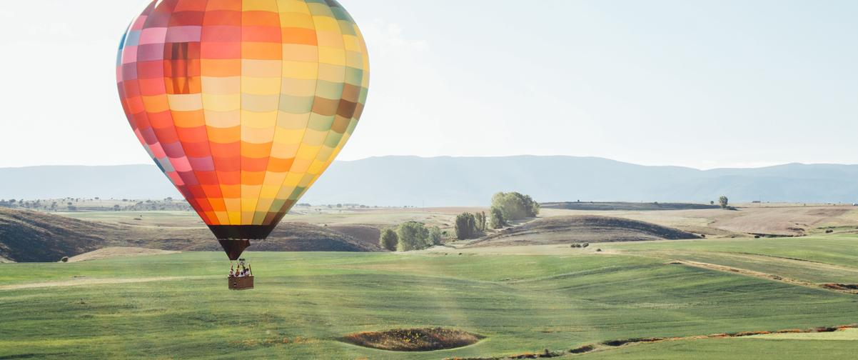 Guía Segovia, Globo aerostático