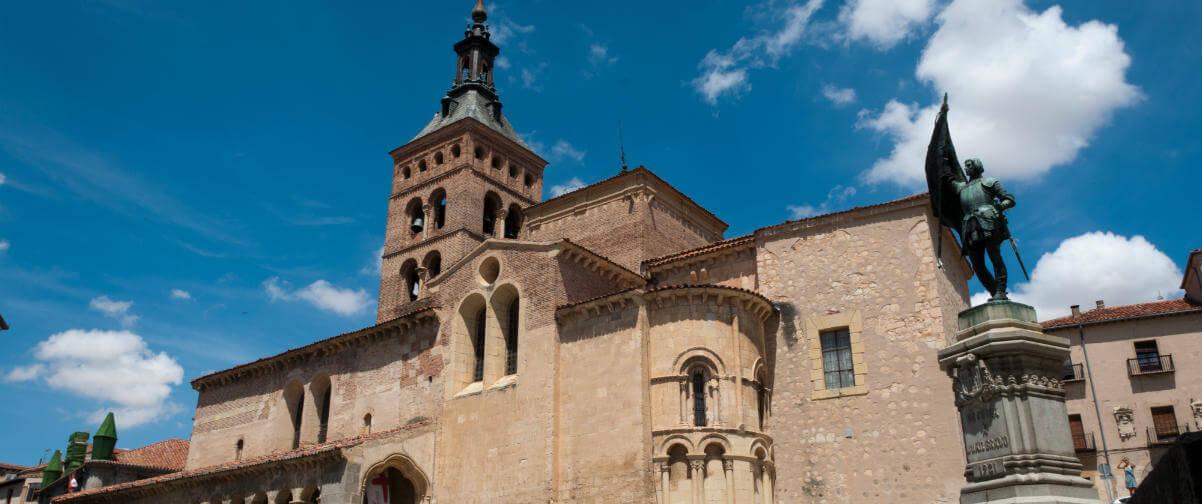 Guía Segovia, Iglesia de San Martín