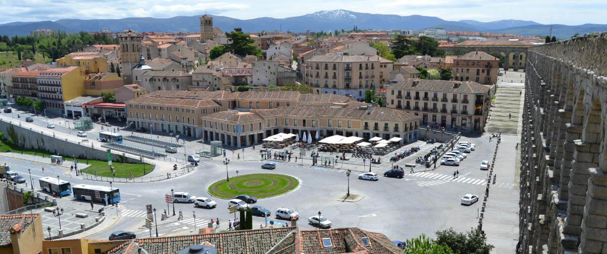 Guía Segovia, Mirador del postigo