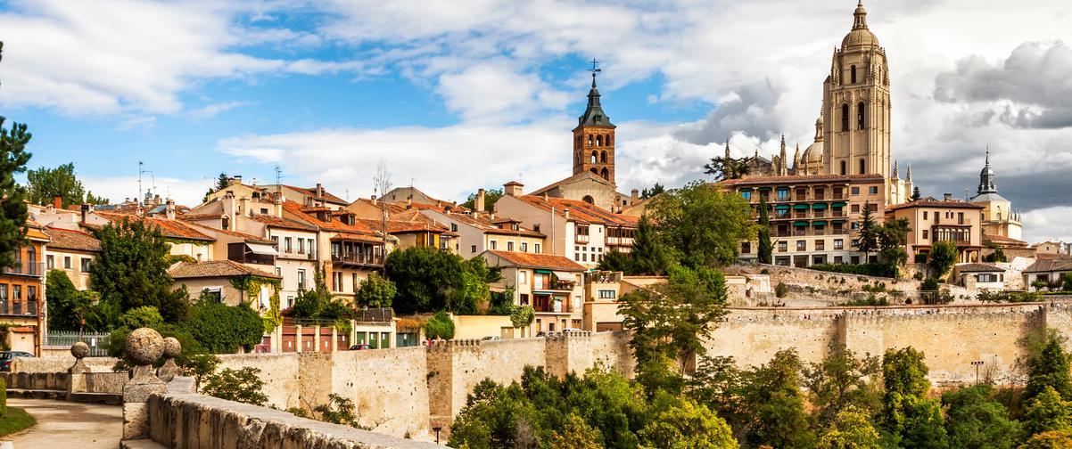 Guía Segovia, Panorámica de Segovia