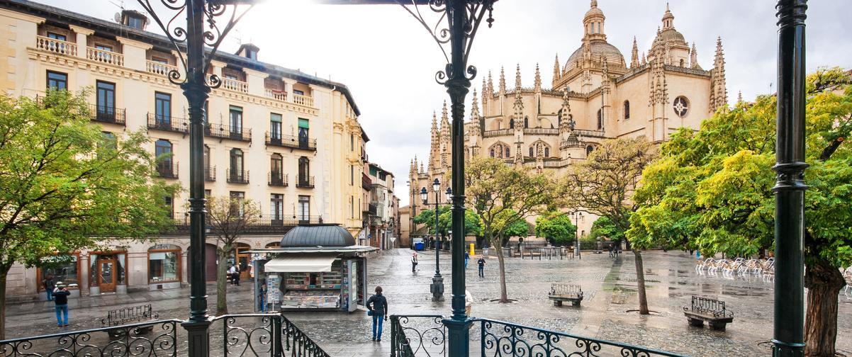 Guía Segovia, Plaza Mayor