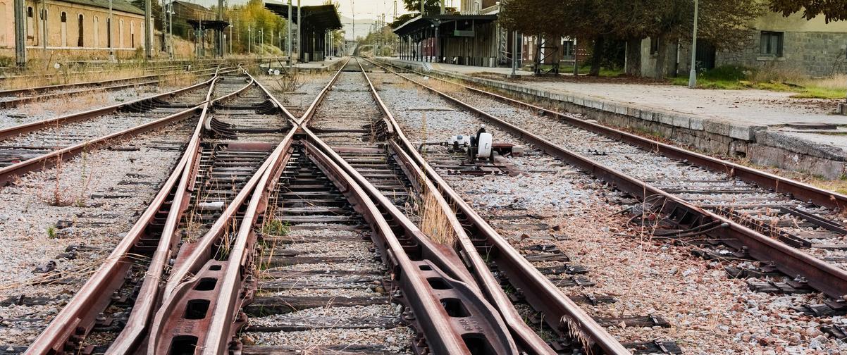 Guía Segovia, Vías de tren