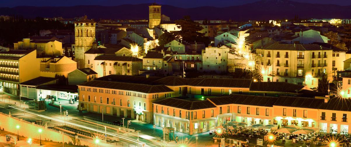 Guía Segovia, Vista nocturna