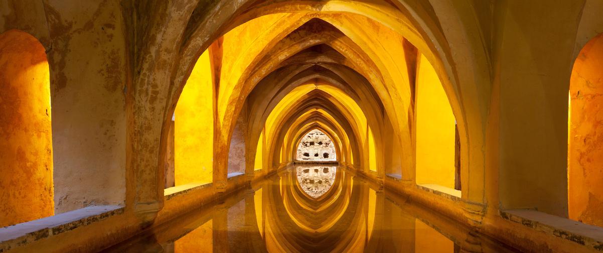 Guía Sevilla, Baños árabes