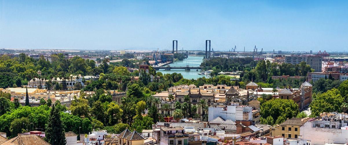 Guía Sevilla, Vista aérea de barrio