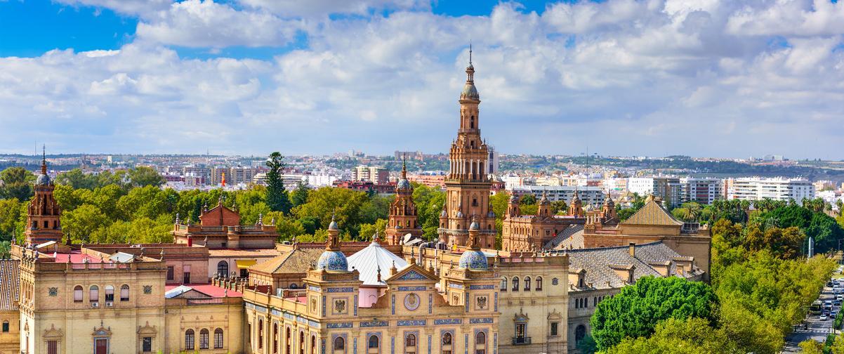 Guía Sevilla, Plaza España en Sevilla