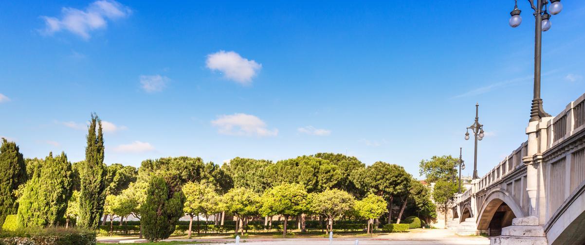 Guía Valencia, Jardines del Turia