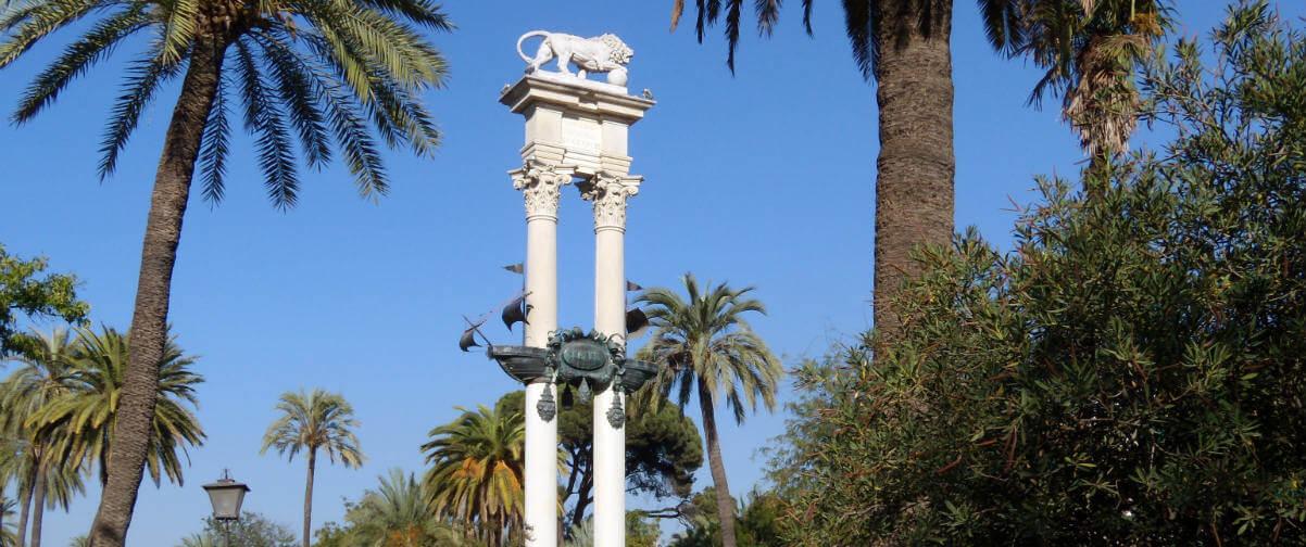 Guía Sevilla, Monumento de Colón