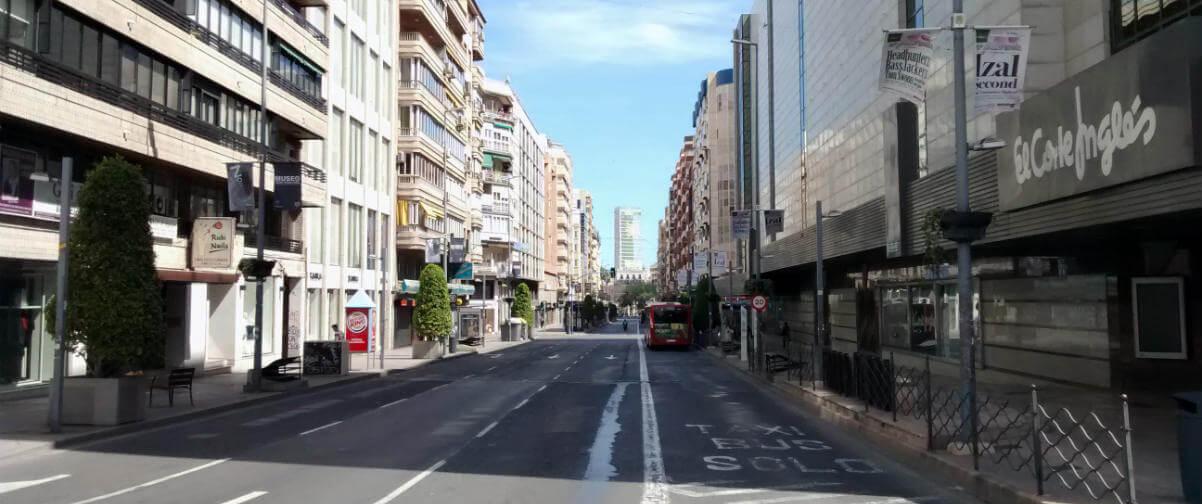 Guía Alicante, Avenida Maissonave
