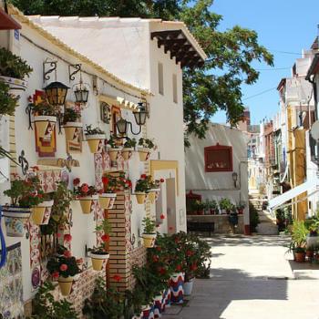 Guía Alicante, Barrio de Santa Cruz