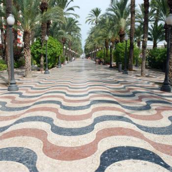 Guía Alicante, Paseo de la Explanada