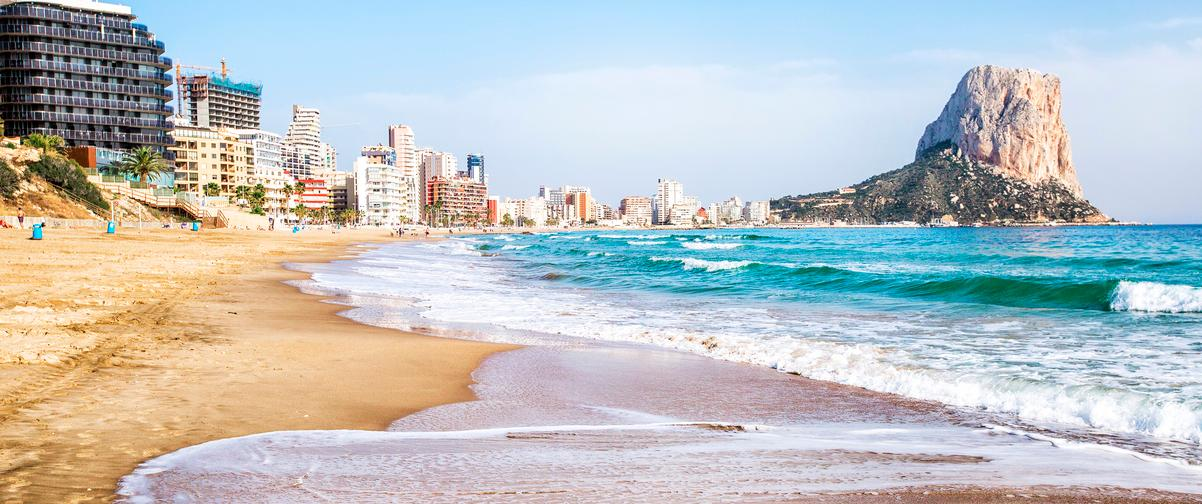 Guía Alicante, Playa Calpe