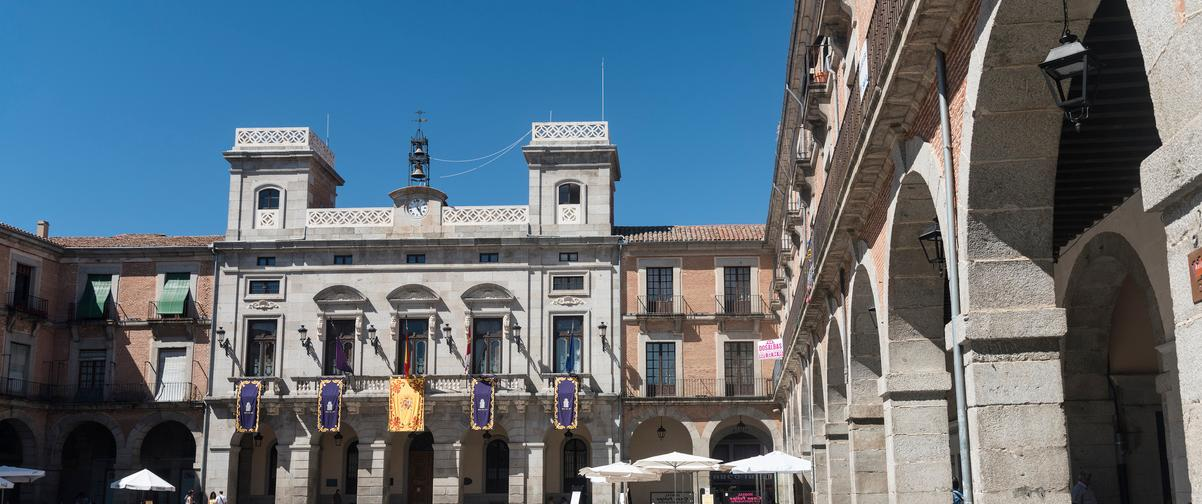 Guía Ávila, Plaza del Mercado