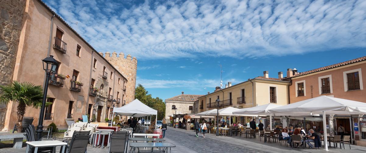 Guía Ávila, Restaurante