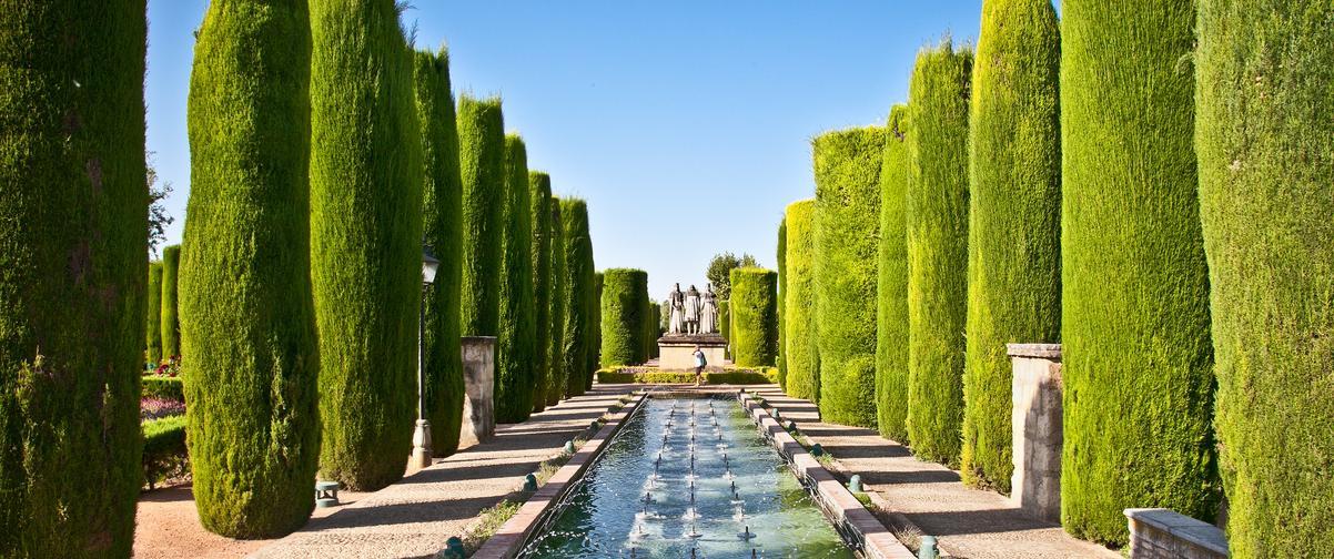 Guía Córdoba, Jardín de los Reyes Católicos
