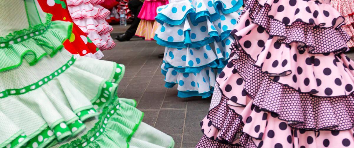 Guía Córdoba, Vestido flamenca