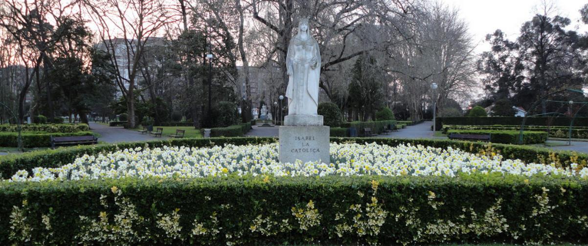 Guía Gijón, Parque Isabel la Católica