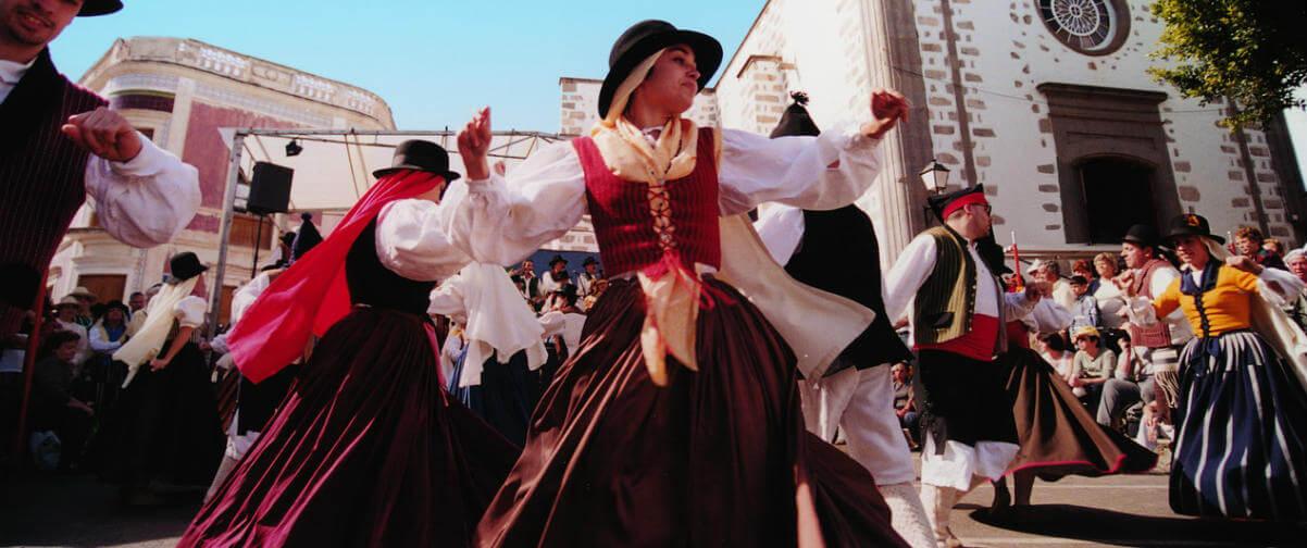 Guía Gran Canaria, Baile tradicional