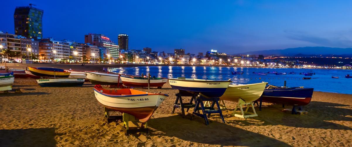 Guía Gran Canaria, Playa de las Canteras