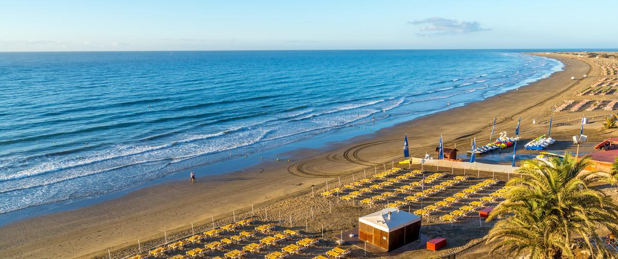 Guía Gran Canaria, Playa del Inglés