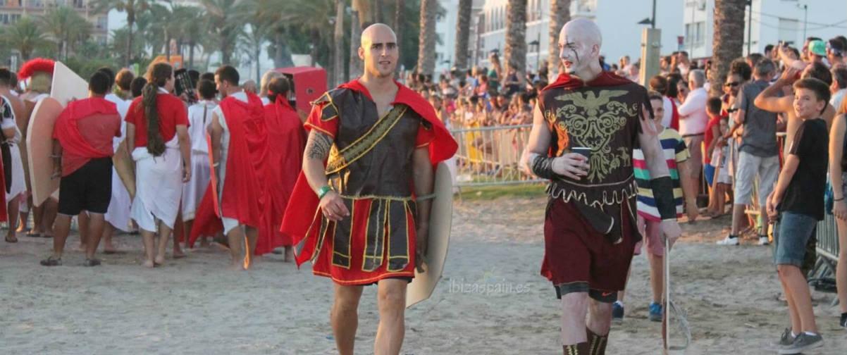 Guía Ibiza, Fiesta de Romanos y Cartagineses