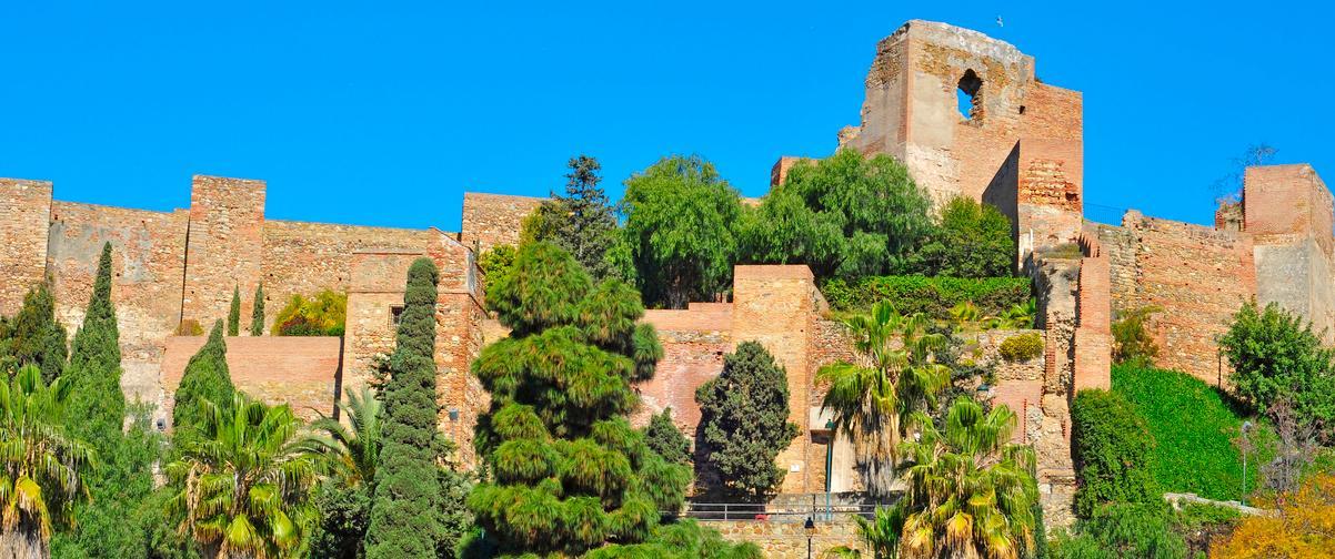 Guía Málaga, La Alcazaba