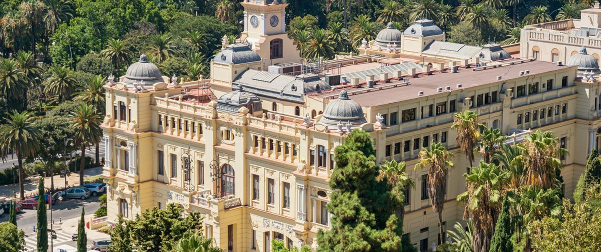 Guía Málaga, Ayuntamiento