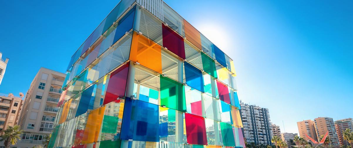 Guía Málaga, Centro Pompidou