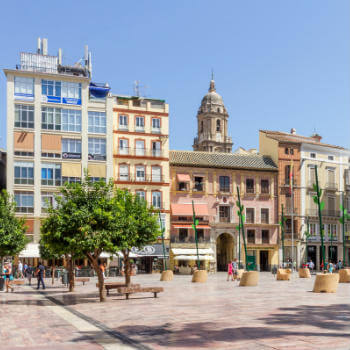 Guía Málaga, Plaza de la Constitución