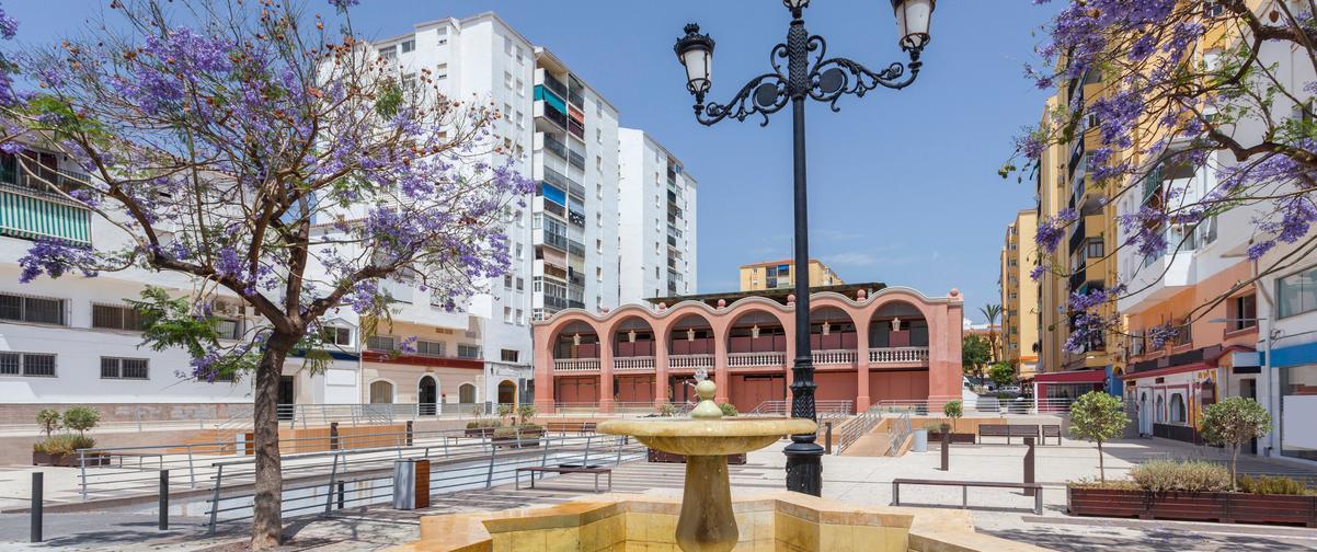 Guía Málaga, Plaza San Pedro de Alcántara